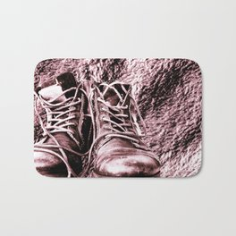 these are boots Bath Mat