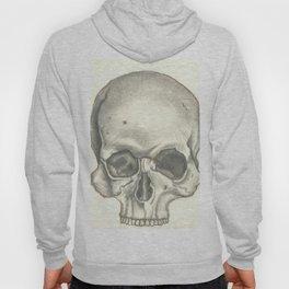 Vintage Skull - Black and White Drawing Hoody