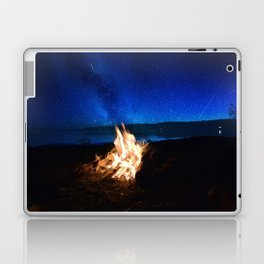 Light the fire, watch the stars Laptop & iPad Skin