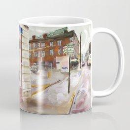 J.T.'s Ship Chandlery, Thames Street, Winter 1998 Coffee Mug