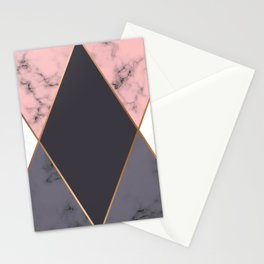 Marble Geometry 018 Stationery Cards