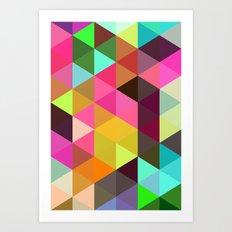 City of lights 01. Art Print