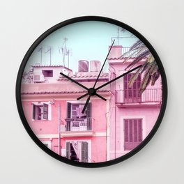 Summer Paradise Wall Clock