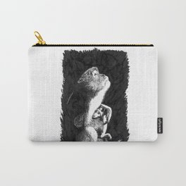 Macaque Carry-All Pouch