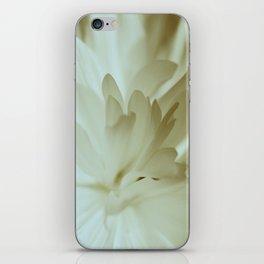 Romantic Flower Retro Vintage Look iPhone Skin
