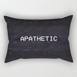 APATHETIC Rectangular Pillow