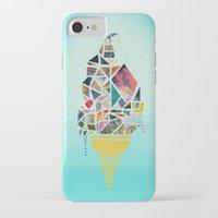 icecream iPhone & iPod Cases featuring icecream by StraySheep