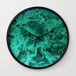 Malachite Dream #1 #gem #decor #art #society6 Wall Clock