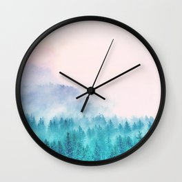 Popsicle Forest Wall Clock