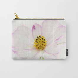 Sensation Cosmos White Bloom Carry-All Pouch