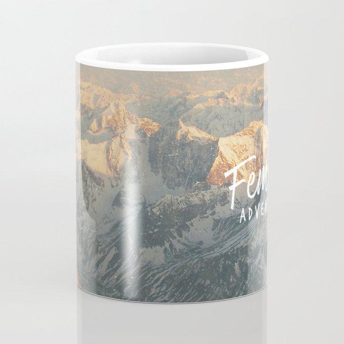 Feminist Adventurer Coffee Mug