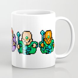 RPG Sprite Wizards Coffee Mug