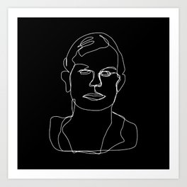 Serial Series #1 Dahmer  Art Print