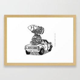 2 Fast 2 Curious Framed Art Print