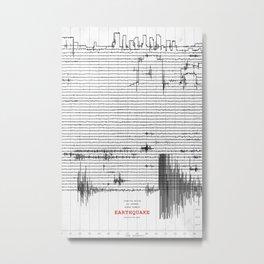 Earthquake Metal Print