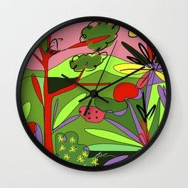 Selva #5 Wall Clock