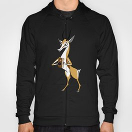 Springbok with a folding camera Hoody