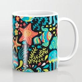 Water life pattern Coffee Mug