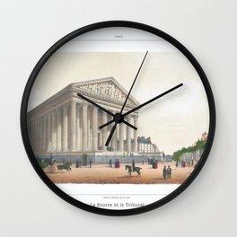 Paris Decor office decoration vintage decor LA MADELEINE of Paris Wall Clock
