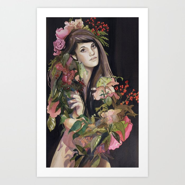 Growing Strength Art Print