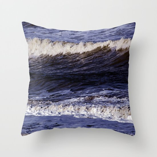 To the sea, to the sea... Throw Pillow