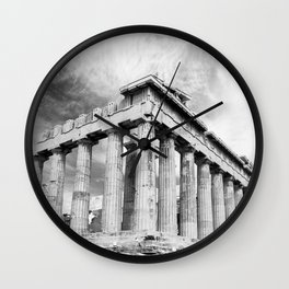 Mystical Parthenon Wall Clock