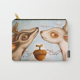 Girl in rain (Pluviophile) Carry-All Pouch