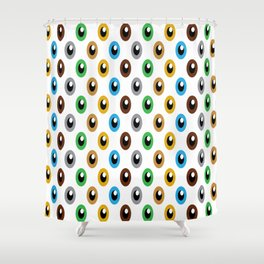 Eye Colour Shower Curtain