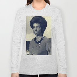 Nichelle Nichols, Actress Long Sleeve T-shirt