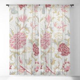 """William Morris """"Cray"""" 3. Sheer Curtain"""