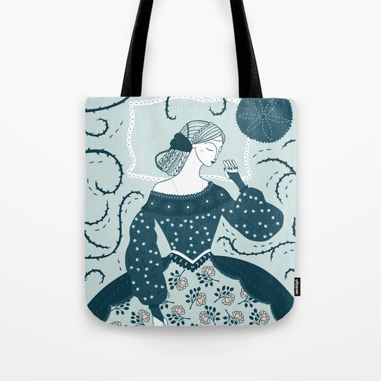 Little Briar Rose Tote Bag