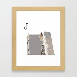 Princess K. Framed Art Print
