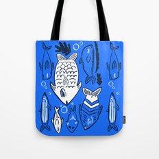 Poissons de La Mer Tote Bag
