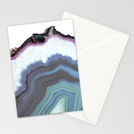 Blue Jeans Agate Stationery Cards