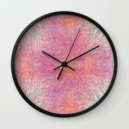 quantum field Wall Clock