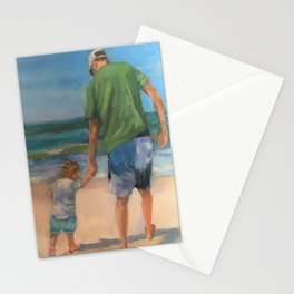 Walk to The Waves Stationery Cards