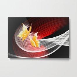 Tanz der Schmetterlinge Metal Print