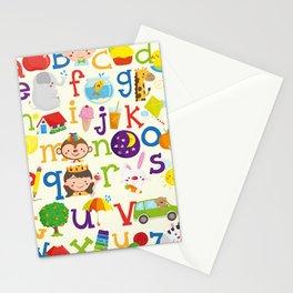 Wedgienet's Alphabet Stationery Cards