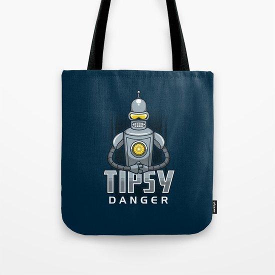 Tipsy Danger Tote Bag
