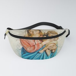 Virgin Mary And Jesus Fanny Pack
