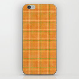 Orange iPhone Skin