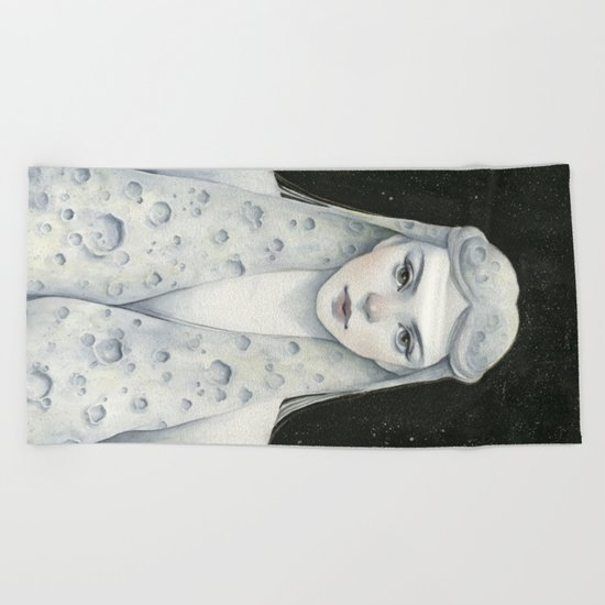 Moon Child Beach Towel