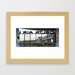 Delta Was Ready Framed Art Print