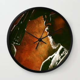Django fanart - digital painting  Wall Clock