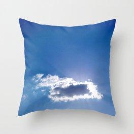 Céu em São João da Boa Vista - SP - Brasil Throw Pillow