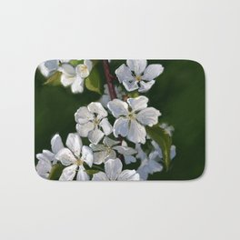 Bing Cherry Blossoms Bath Mat