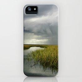 Salt Marsh, Cape Romain, South Carolina iPhone Case