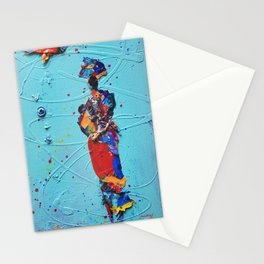 Rooted 1 by Nadia J Art Stationery Cards