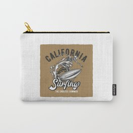 California Surfing Carry-All Pouch