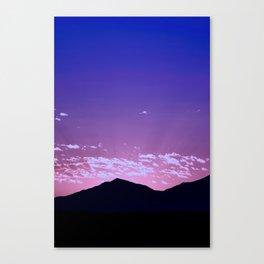 SW Mountain Sunrise - I Canvas Print